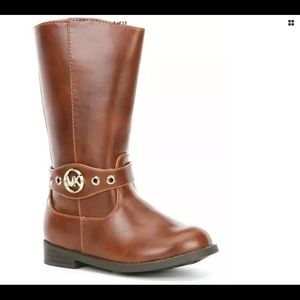 Michael Michael Kors Emma Heather Brown Boots sz 1